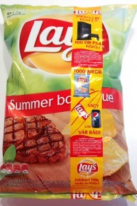 Lay's summer barbeque chips