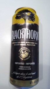 BlackThorn cider