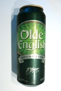 Olde English alma cider
